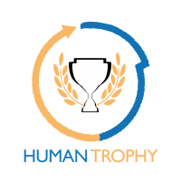 HUMAN TROPHY logo vdef